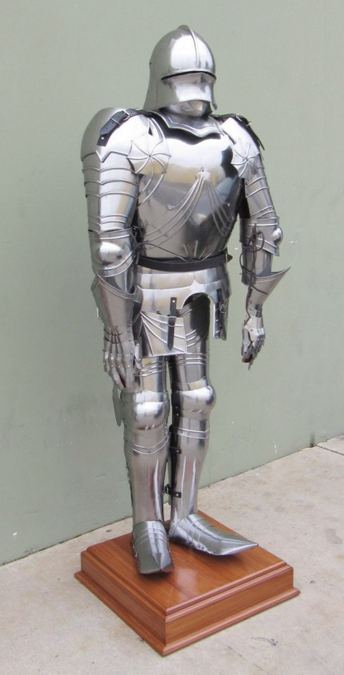 Gothic Knight Suit Of Armor