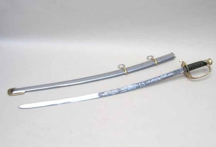U.S. Cavalry Sword Replica, with Scabbard