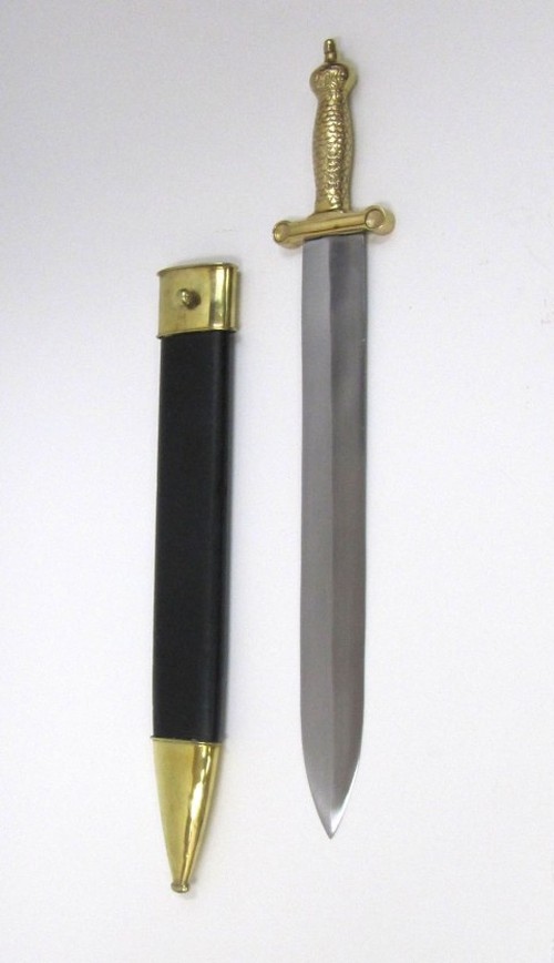 Norman Sword With Scabbord