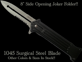 Joker Black Lighting - Spring Assisted Knife
