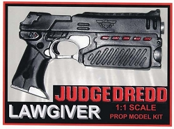 Judge Dredd Lawgiver Pistol Replica Prop Model Kit