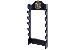 6 Sword Katana Wall Stand - With Asian Symbol