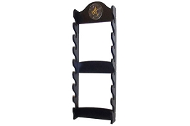 8 Sword Katana Wall Stand - With Asian Symbol