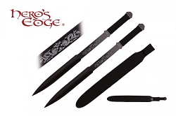 The  Levanon Double-Edged Full Tang Sword Set