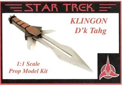 Klingon D'k Tahg Dagger Knife Replica Prop Model Kit