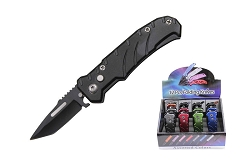 12 Pcs Mini Tactical Assisted Opening Rescue Folding Knife - Mix Colors