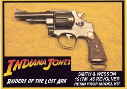 Raiders of the Lost Ark Smith & Wesson .45 Revolver