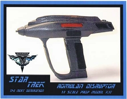 Star Trek Next Generation Romulan Disruptor