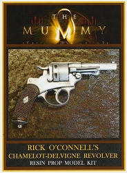 The Mummy Rick O'Connell's Revolver Resin Prop Model Kit