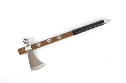 Native Indian Chief Tomahawk Peace Pipe Hatchet Axe