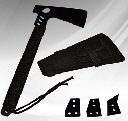 Black Ops Tomahawk Throwing Axe Black