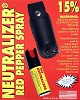 Neutralizer 15% Pepper Spray Leather Case