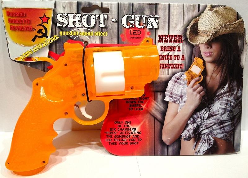 Russian roulette gun game video
