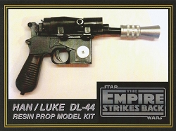 Han Solo Blaster Replica Prop Model Kit