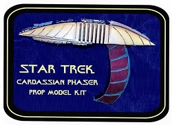Star Trek Cardassian Phaser Replica Prop Model Kit