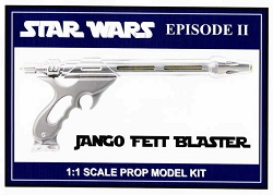 Star Wars Jango Fett Blaster Replica Prop Model Kit