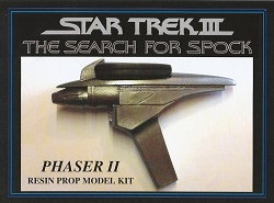 Star Trek III The Search for Spock Phaser Resin Prop Model Kit