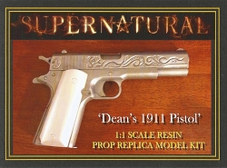 Supernatural Dean's 1911 Pistol Resin Prop Model Kit