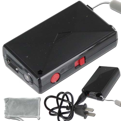 Pro Firefly Stun Gun by Azan Black 2 Million Volts