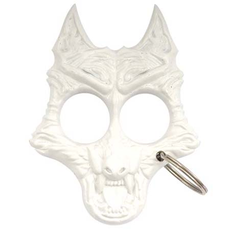 Self Defense Twilight Werewolf Keychain(White)