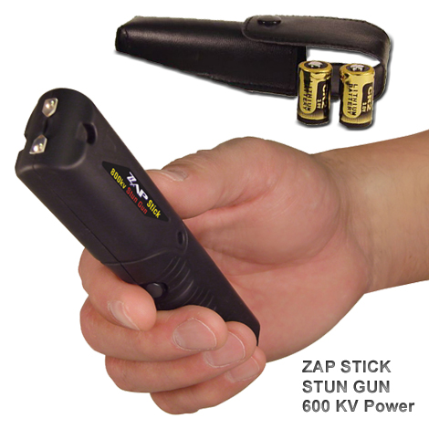 Zap High Voltage Stick Stun Gun 600,000 Volts