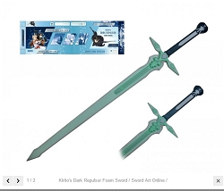 Officially licensed Kirito's Dark Repulser Foam Sword