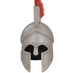 Mini Spartan Helmet Metal with Free Display Stand