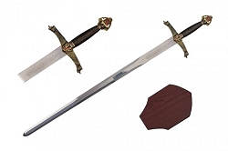 Plaque and sword  for LANCELOT sword  40 inches overall