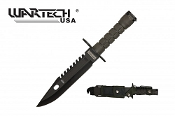 M-9 Bayonet with sheath - 12 and 3/4 inches overall length