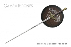Officially licensed Needle Steel sword from Game of Thrones  with plaque