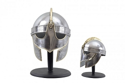 Viking Helmet  Stainless Steel