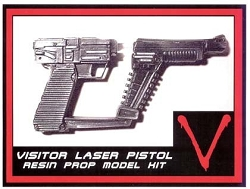 V Visitors Laser Pistol Replica Prop Model Kit