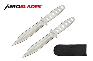 Aeroblades Stinger 2pc Throwing Knife Set