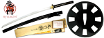 By Ryumon - Practical Wheel Fully Functional Sword Katana with Certificate of Authenticity