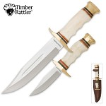 Timber Rattler Cattle Drive Knife Combo