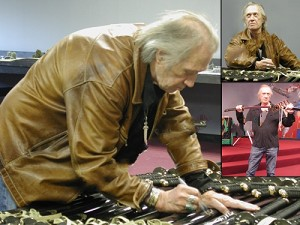 Autographed Kill Bill Sword Signed by David Carradine