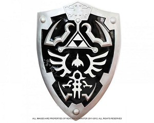 Full SIze Dark Link's Hylian Shield from the Legend of Zelda