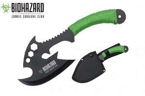 "The Complax Combat Axe 440 stainless steel blade 12 "" overall"