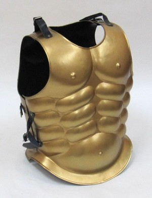 Golden Muscle Armor