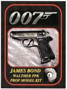 James Bond Walther PPK Replica Prop Model Kit