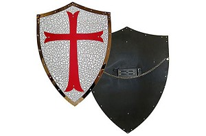 Knights Templar Shield and Sword Hanger