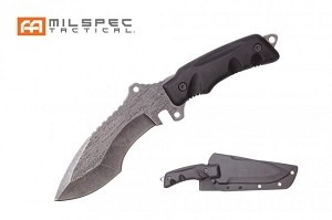 "MILSPEC 11"" Stone Wash Tacticool Hunting Knife"