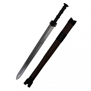 Captain Leo's  Two Handed Saber Samurai Sword - 25 Inch Version
