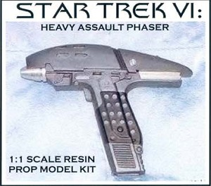 Star Trek 6 Assault Phaser Replica Model Kit