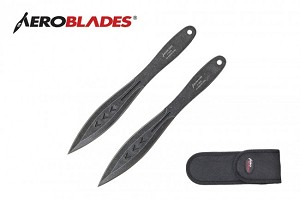 Stone washed THE AVENGER  2 Piece Throwing Knives Set