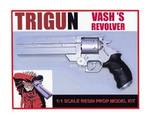 Trigun Vash The Stampede Pistol Revolver (One Part Version)
